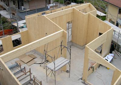 Consumomeno costruire futuro rispettando l 39 ambiente for Case legno xlam
