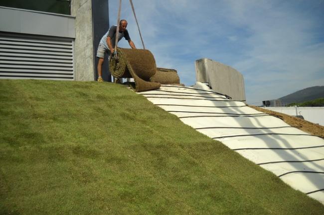 Consumomeno costruire futuro rispettando l 39 ambiente il - Giardino sul tetto ...